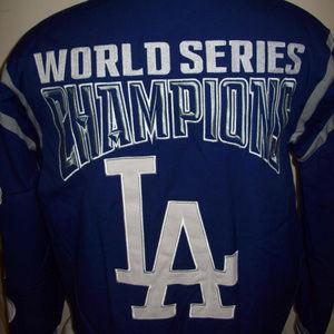 LOS ANGELES DODGERS 6 TIME CHAMPIONSHIP JACKET XL